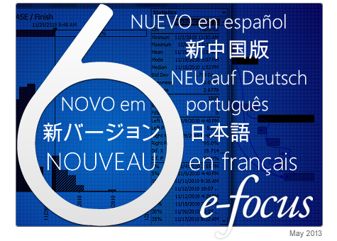 E-Focus: @RISK and DecisionTools Suite 6.1 Now Available in Seven Languages